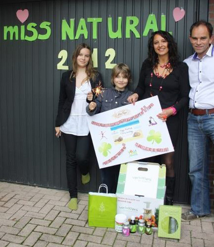 Irene Lelieveld en haar gezin